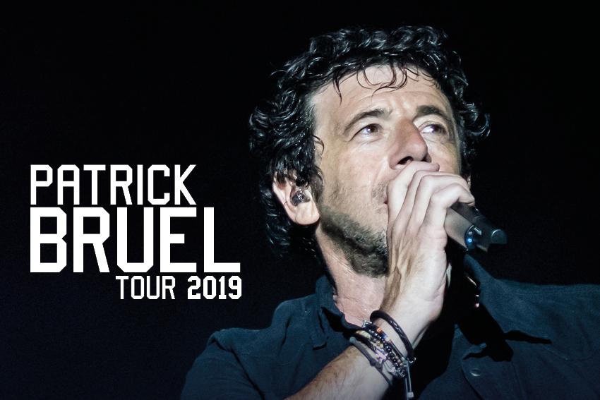Nouveau spectacle : Patrick Bruel Tour 2019