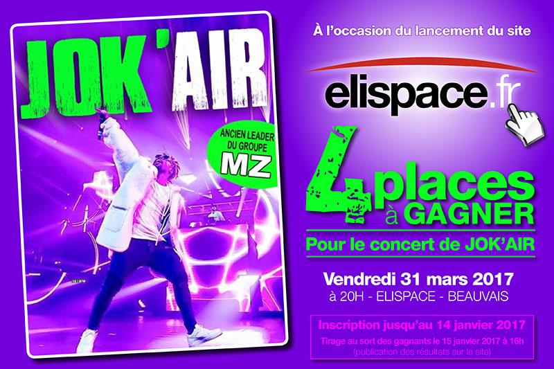 Résultats du jeu concours JOK'AIR sur Elispace.fr